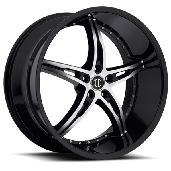 2 Crave No.14 Gloss Black with Machined Face and Gloss Black Lip