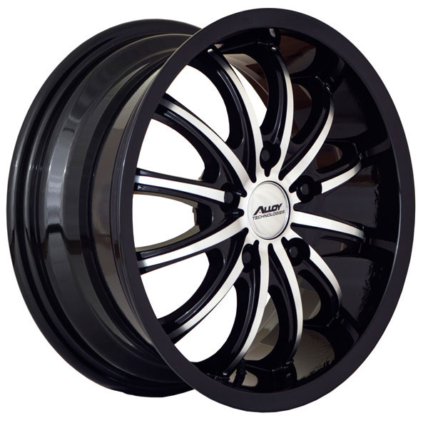 Alloy Technologies AT166 Black with Machined Face