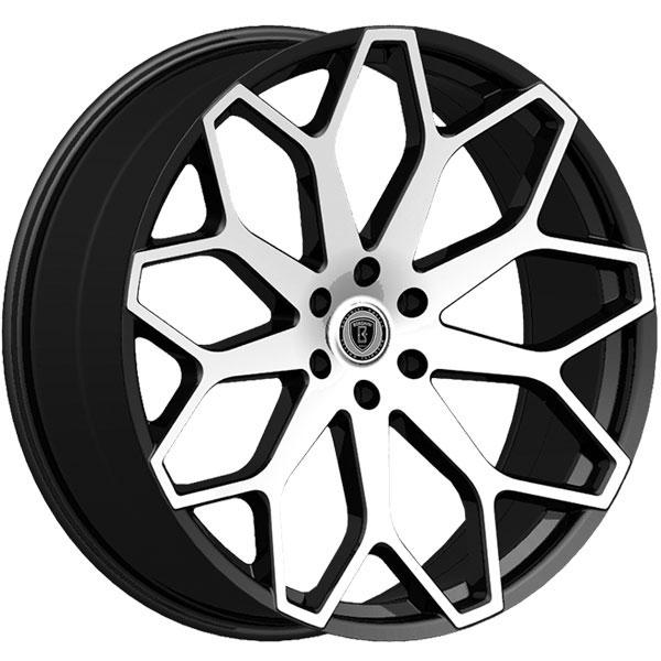 Borghini B28 Black with Machined Face