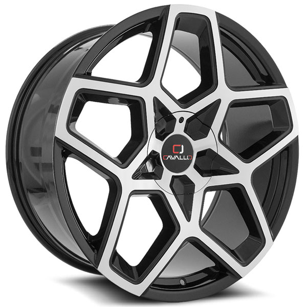 Cavallo CLV-25 Gloss Black Machined