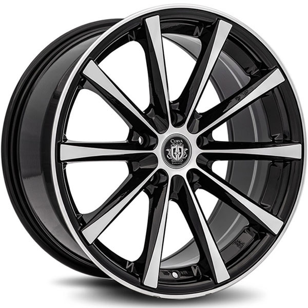 Curva Concepts C10N Black with Machined Face