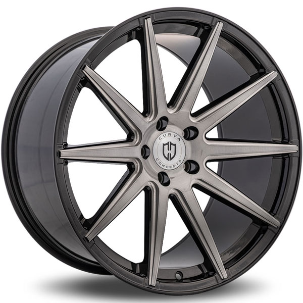Curva Concepts C49 Tinted Black with Brushed Face