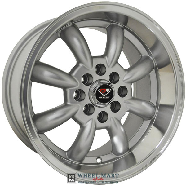 Dcenti Racing DCTL002 Silver with Machined Lip