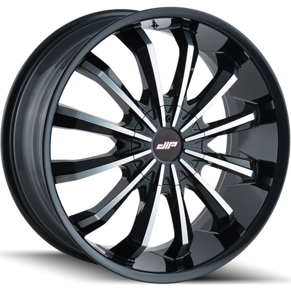 Dip D40 Fusion Gloss Black with Machined Face