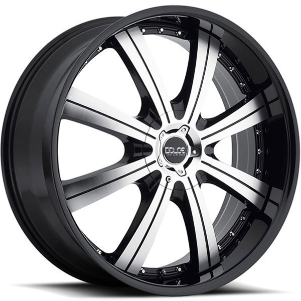 Dolce DC64 Gloss Black with Machined Face