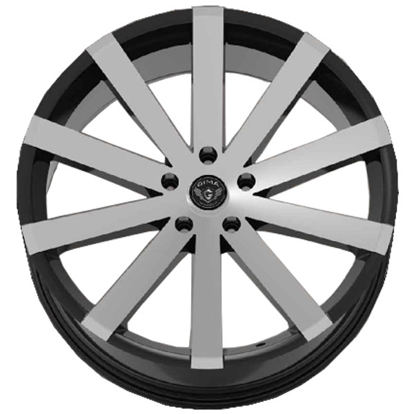 Gima Paradox Black wtih Machined Face 5 Lug