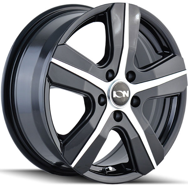 Ion Alloy 101 Gloss Black with Machined Face