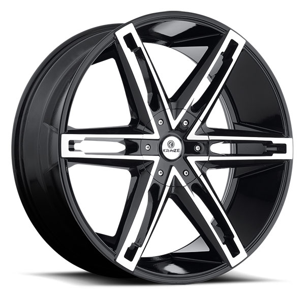 Kraze 311 Mania Black with Machined Face