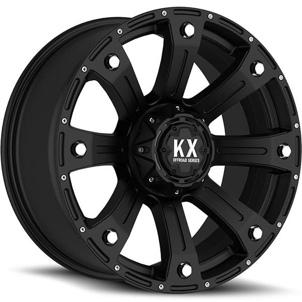 KX Offroad CP77 Matte Black