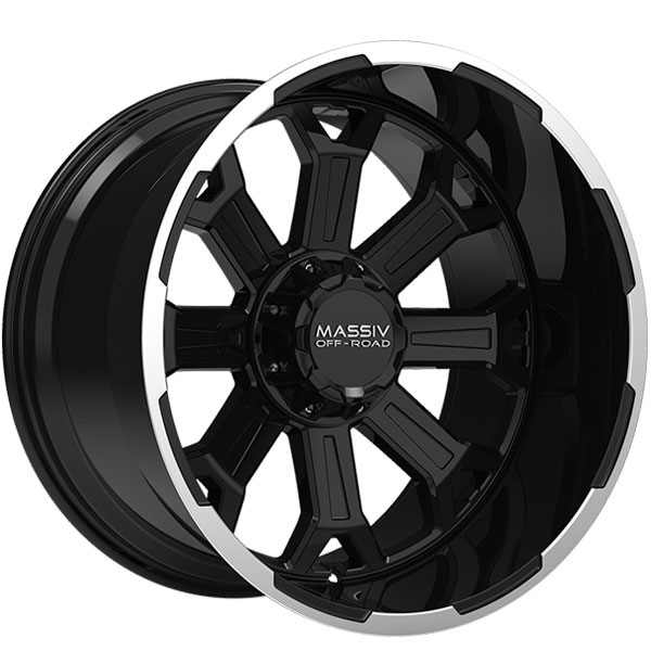 Massiv Offroad OR2 Gloss Black with Machined Trim