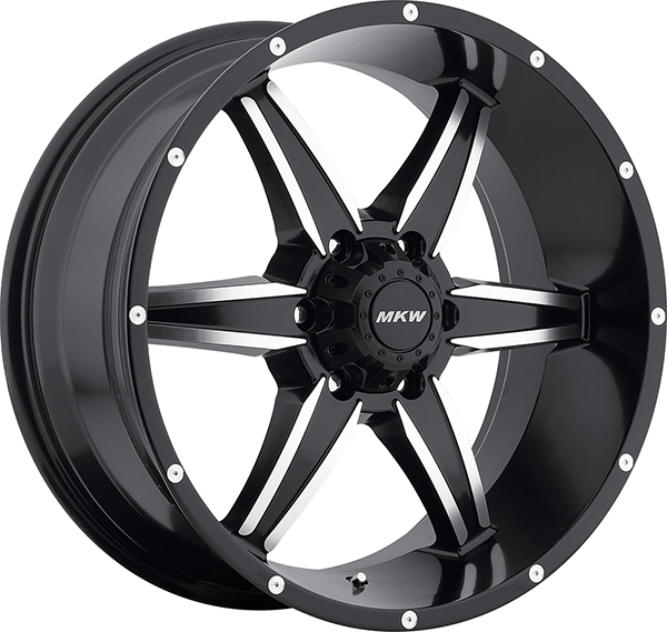MKW M89 Satin Black with Machined Face and Black Lip