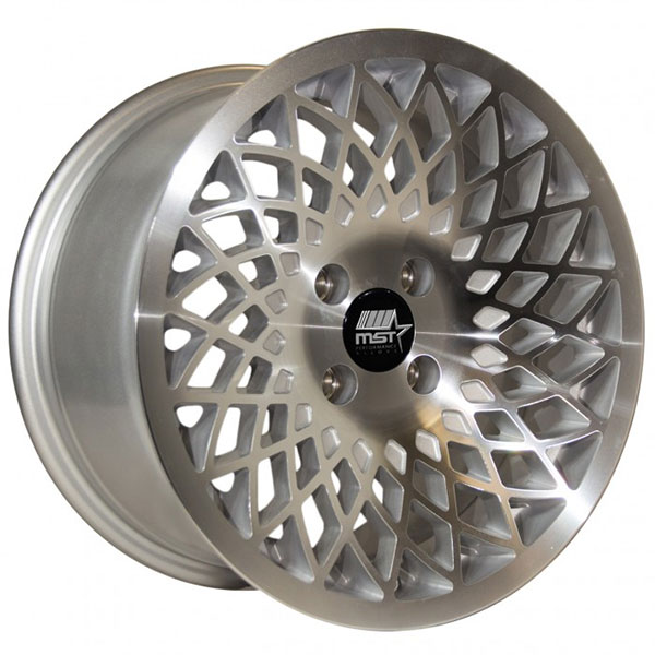 MST Lotus Silver with Machined Face