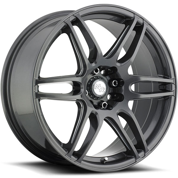 Niche NR6 M105 Anthracite with Milled Spokes