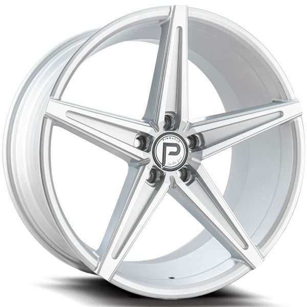 Pinnacle P202 Supreme Silver with Machined Face