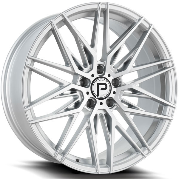 Pinnacle P210 Majestic Silver with Machined Face
