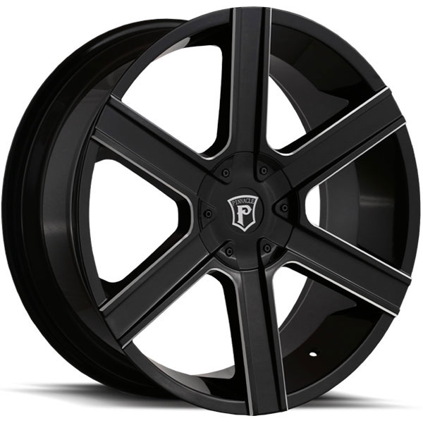 Pinnacle P92 Gallant Gloss Black with Milled Spokes