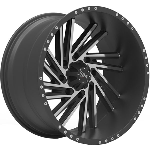 Red Dirt Road RD55C Saw Blade Black with Milled Spokes