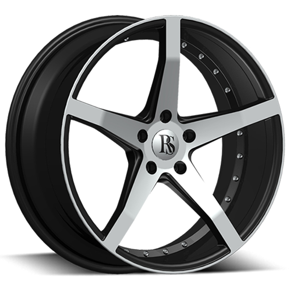 Red Sport RSW105A Black with Machined Face