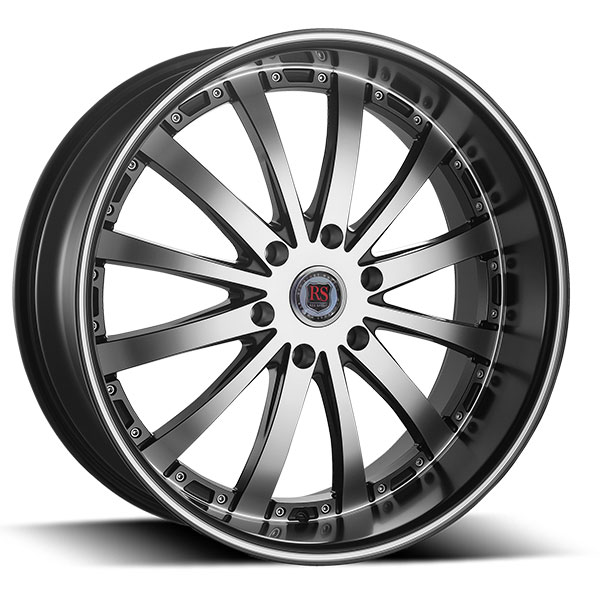 Red Sport RSW77B Black with Machined Face and Stripe