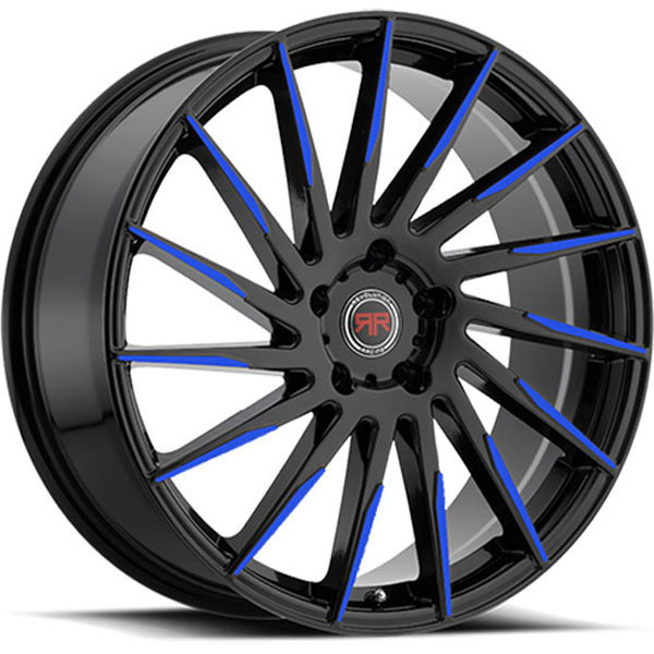 Revolution Racing R15 Black with Blue Face