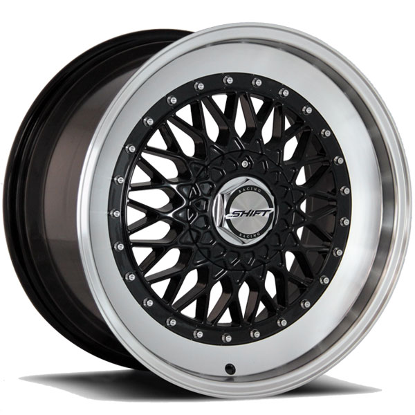 Shift Clutch Gloss Black with Polished Lip