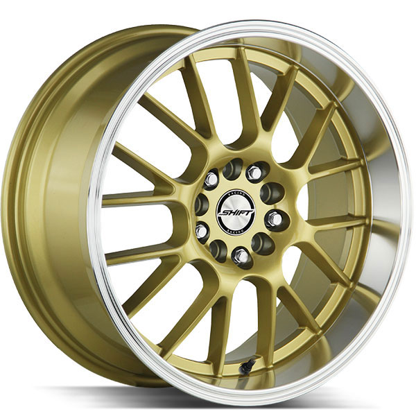 Shift Crank Gold with Polished Lip