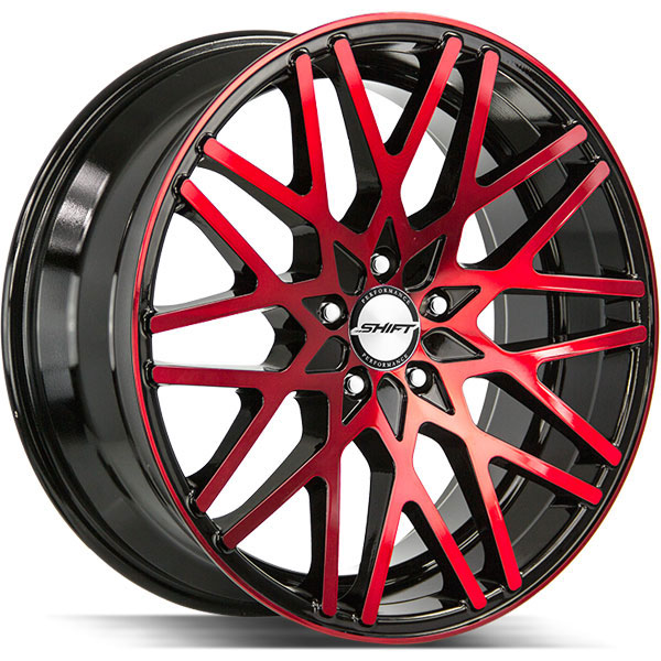 Shift Formula Gloss Black with Machined Red