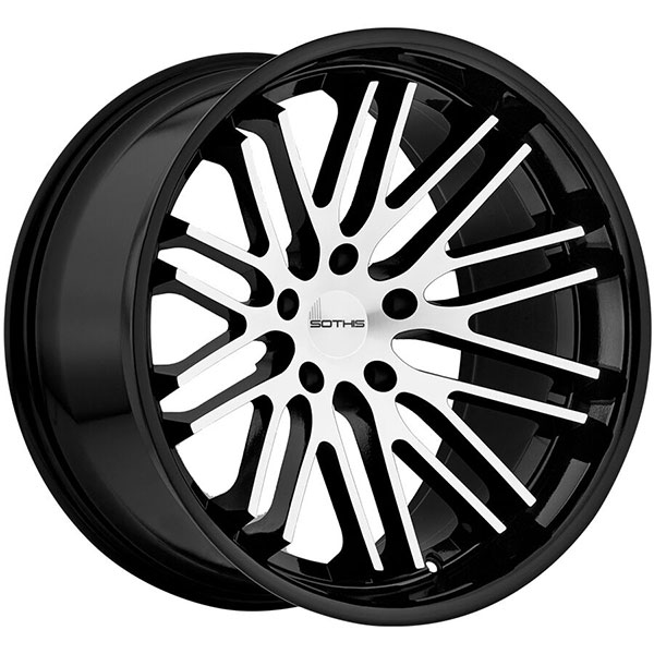 SOTHIS SC003 Gloss Black Machined