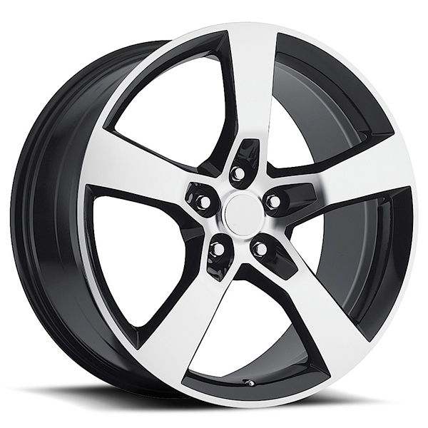 Sport Concepts 860 Gloss Black with Machined Face and Lip