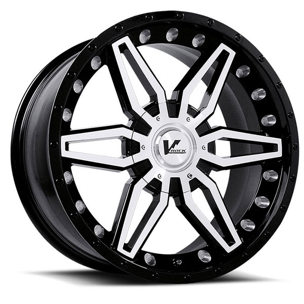 V-Rock VR4 Axial Gloss Black with Machined Face