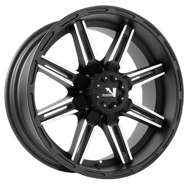 V-Rock VR7 Reactor Matte Black with Machined Face