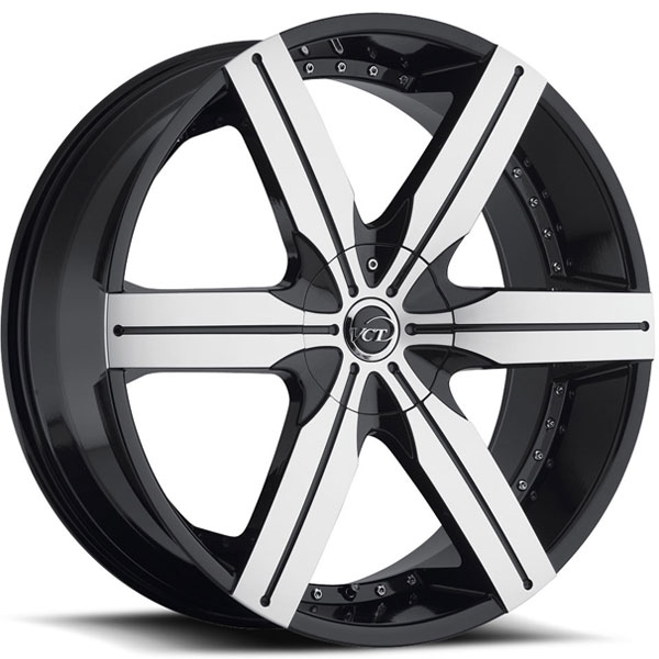 VCT Gotti Black with Machined Face