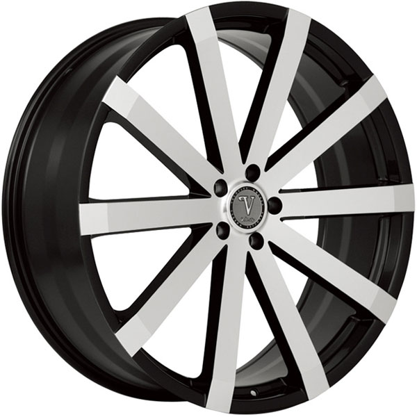 Velocity VW 12A Black with Machined Face