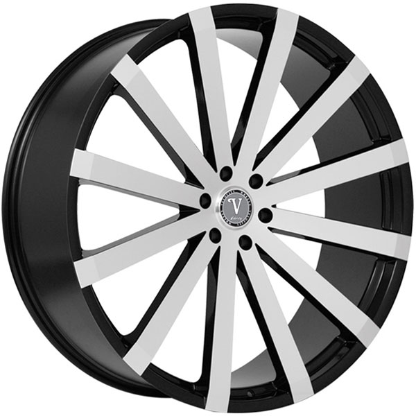 Velocity VW 12B Black Machined