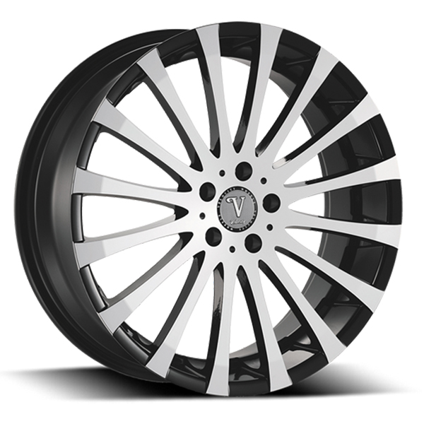 Velocity VW 13 Black with Machined Face