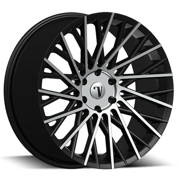 Velocity VW 16 Black with Machined Face