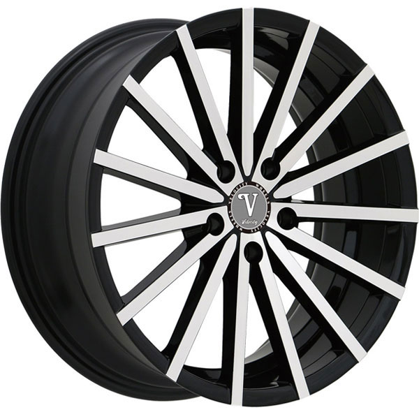 Velocity VW 17A Black with Machined Face