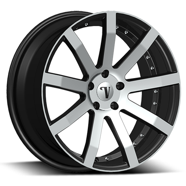 Velocity VW 19 Black with Machined Face