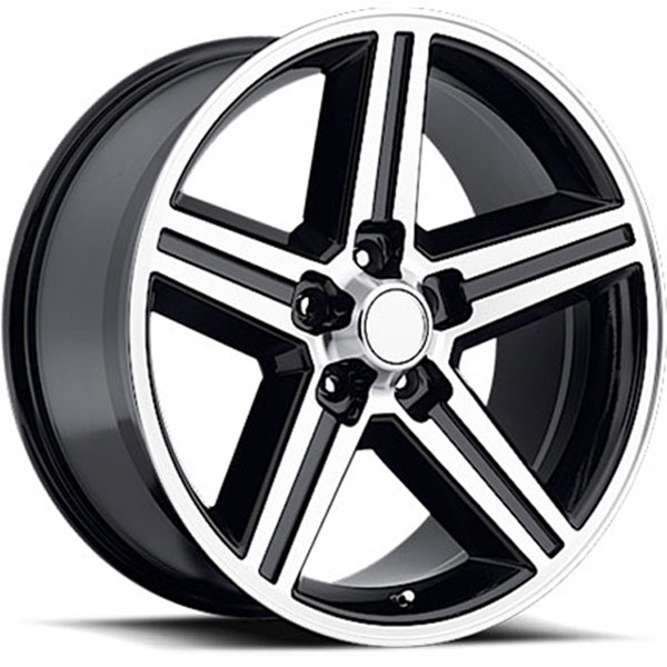 Velocity VW 248T-A Black with Machined Face