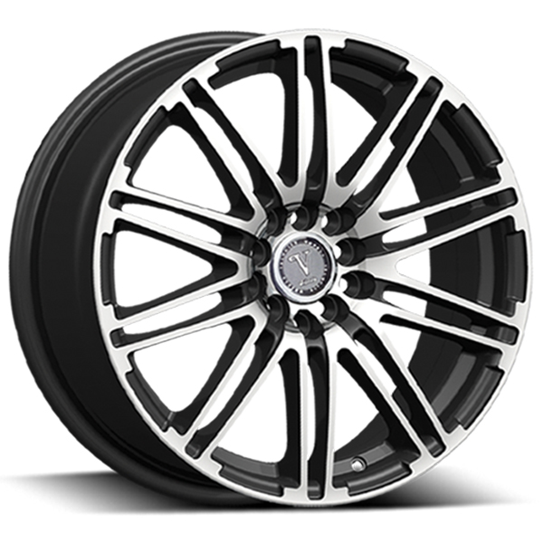 Velocity VW 287B Black with Machined Face
