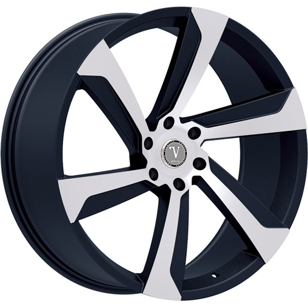 Velocity VW 29B Black with Machined Face