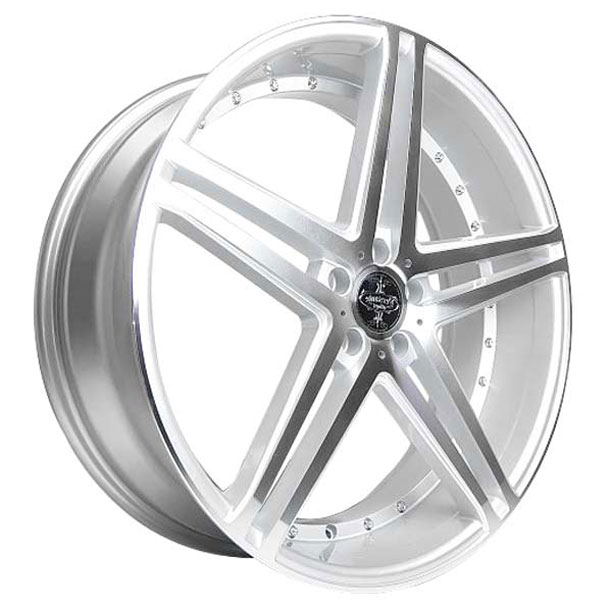 Versante 233 Silver with Machined Face