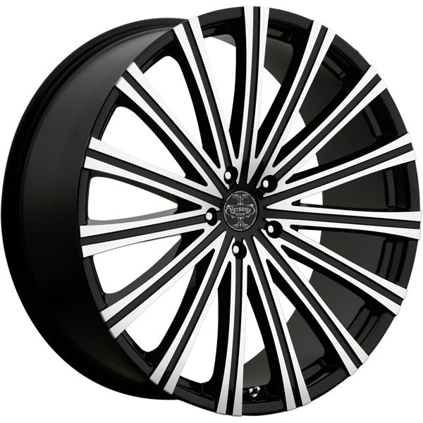 Versante 230 Black with Machined Face 5 Lug