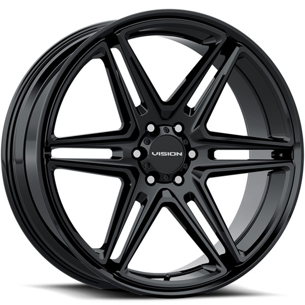 Vision 476 Wedge Gloss Black
