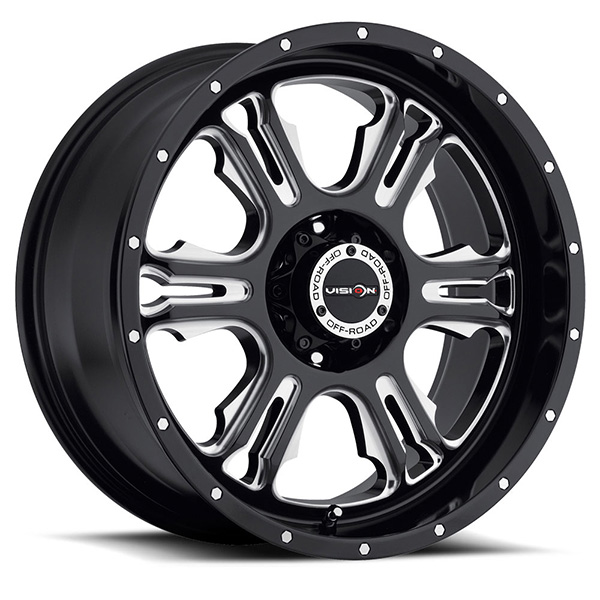 Vision Off-Road 397 Rage Gloss Black